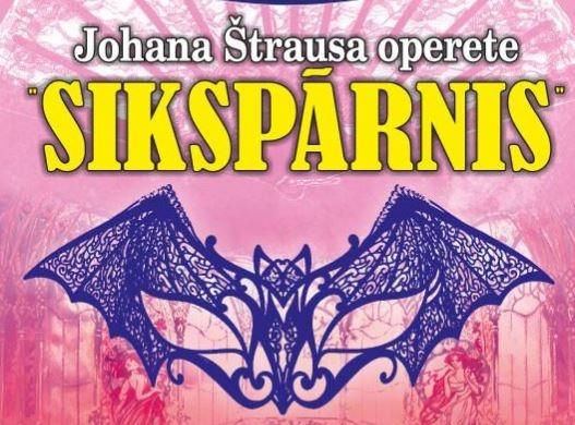 Johana Štrausa operete Sikspārnis